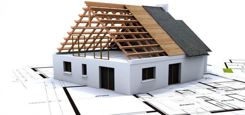 proces výstavby domu
